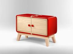 - Wooden sideboard with doors KERAMOS | Sideboard with doors - LA CASTELLAMONTE STUFE