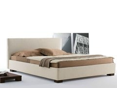 - Fabric bed with removable cover with upholstered headboard LIPARI | Bed with removable cover - Orizzonti Italia