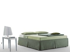- Double bed with removable cover SOMMIER MAJOR - Orizzonti Italia