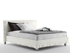 - Double bed with removable cover WHITE - Orizzonti Italia