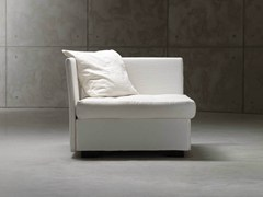 - Corner armchair bed MEZZA ISOLINA - Orizzonti Italia