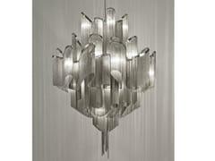 - Halogen metal pendant lamp STREAM | Pendant lamp - TERZANI