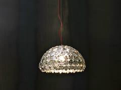 - Halogen metal pendant lamp ORTEN'ZIA   Pendant lamp - TERZANI