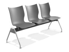 - Plastic beam seating ONYX TRAVERSE | Beam seating - Casala