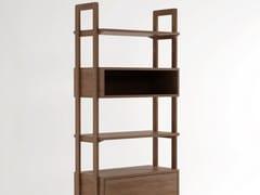 - Open freestanding wooden bookcase K/WSU | Bookcase - KARPENTER