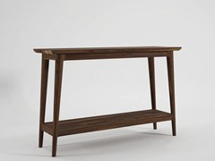 - Rectangular wooden console table VINTAGE | Console table - KARPENTER