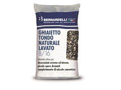 Ghiaietto tondo naturaleGHIAIETTO TONDO NATURALE LAVATO 8/16 - BERNARDELLI GROUP