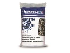 Ghiaietto tondo naturaleGHIAIETTO TONDO NATURALE LAVATO 4/8 - BERNARDELLI GROUP