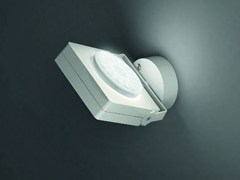 - Wall-mounted adjustable aluminium spotlight NOTTA AP 1ES - Vetreria Vistosi