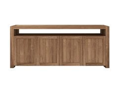- Teak sideboard with doors TEAK DOUBLE | Teak sideboard - Ethnicraft