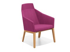 - Fabric easy chair high-back PARKER II | Easy chair high-back - Casala