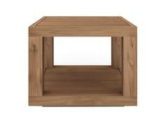 - Square teak coffee table TEAK DUPLEX   Square coffee table - Ethnicraft