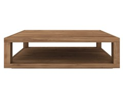 - Rectangular teak coffee table TEAK DUPLEX | Rectangular coffee table - Ethnicraft