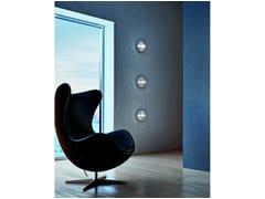 - Wall-mounted chrome plated spotlight POMOLUX PL P - Vetreria Vistosi