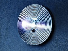 - Chrome plated wall light POMOLUX PL G - Vetreria Vistosi