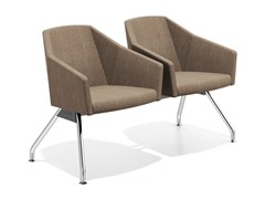 - Beam seating with armrests PARKER TRAVERSE | Beam seating - Casala