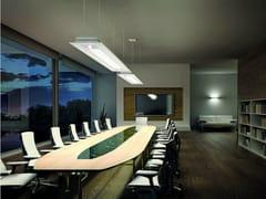 - Carbon fibre pendant lamp SQUARE SP 180 - Vetreria Vistosi