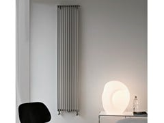 - Hot-water vertical wall-mounted decorative radiator BASICS 25 | Decorative radiator - Tubes Radiatori