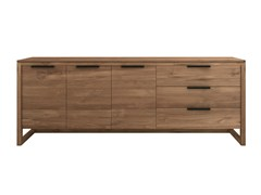 - Teak sideboard with drawers TEAK LIGHT FRAME | Sideboard - Ethnicraft