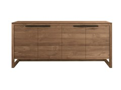 - Teak sideboard with doors TEAK LIGHT FRAME | Sideboard with doors - Ethnicraft