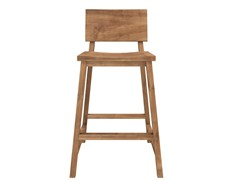 - Teak counter stool TEAK N-CHAIRS | Counter stool - Ethnicraft