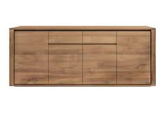 - Teak sideboard with doors TEAK ELEMENTAL | Sideboard - Ethnicraft