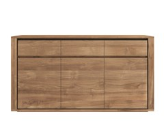 - Teak sideboard with doors TEAK ELEMENTAL | Teak sideboard - Ethnicraft