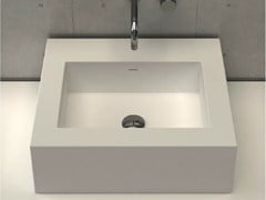 - Countertop rectangular washbasin PLATINUM BASIN 2 - DIMASI BATHROOM by Archiplast