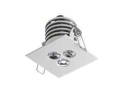 Faretto a LED quadrato da incasso Look 4.1 -