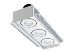 - LED multiple recessed spotlight Quad Maxi 4.3 - L&L Luce&Light