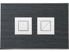 - Flush plate WOOD GREY OAK POLISHED - Valsir