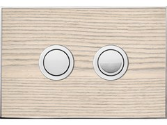 - Flush plate WOOD BLANC OAK POLISHED - Valsir