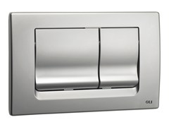 - Brushed steel flush plate RIA | Brushed steel flush plate - OLI