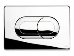 - Glossy steel flush plate SALINA | Glossy steel flush plate - OLI