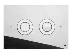 - Glossy steel flush plate TREND | Glossy steel flush plate - OLI