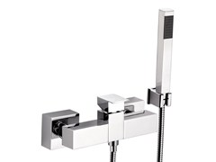 - Chrome-plated shower mixer with hand shower SKYLINE | Shower mixer with hand shower - Daniel Rubinetterie