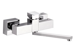 - Wall-mounted kitchen mixer tap with swivel spout SKYLINE | Wall-mounted kitchen mixer tap - Daniel Rubinetterie