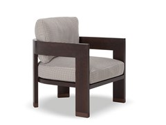- Outdoor armchair WARHOL DARK BROWN OUTDOOR - Minotti