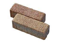 - Concrete paving block CORSO® 7x21 - Gruppo Industriale Tegolaia