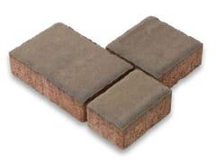 - Concrete paving block CAMPUS - Gruppo Industriale Tegolaia