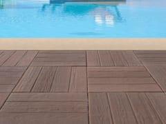 - Concrete paving block PIASTRA WOOD - Gruppo Industriale Tegolaia
