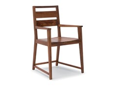 - Sled base wooden chair with armrests CHATTANOOGA - Riva 1920