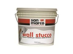 Stucco in pasta per rasature sottili per muro all'internoWALL STUCCO - COLORIFICIO SAN MARCO