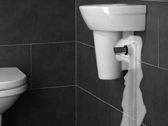 Sifone in acciaio e PVCSLIM TUBE - EASY SANITARY SOLUTIONS