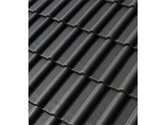 - Cement roof tile DOLOMITEN2 IMPASTO VERNICIATO - Gruppo Industriale Tegolaia