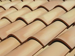 - Clay bent roof tile COPPO MEDITERRANEO - Gruppo Industriale Tegolaia