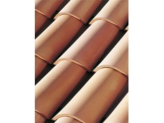 - Clay bent roof tile COPPO GALLURA - Gruppo Industriale Tegolaia