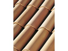 - Clay bent roof tile COPPO 50 - Gruppo Industriale Tegolaia