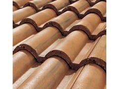 - Cement roof tile SUPERCOPPO® ANTICATO - Gruppo Industriale Tegolaia