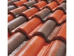 - Cement roof tile SUPERCOPPO® CERAMICATO - Gruppo Industriale Tegolaia